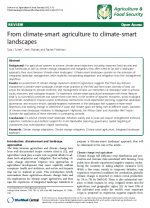 From Climate Smart Agriculture to Climate Smart Landscapes