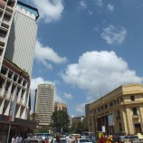 Downtown Nairobi, Photo by Orrling, from wikipedia.