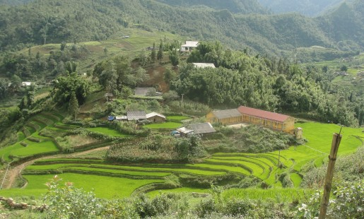Northern Vietnam Landscape - Photocredit: Steven Jaffee