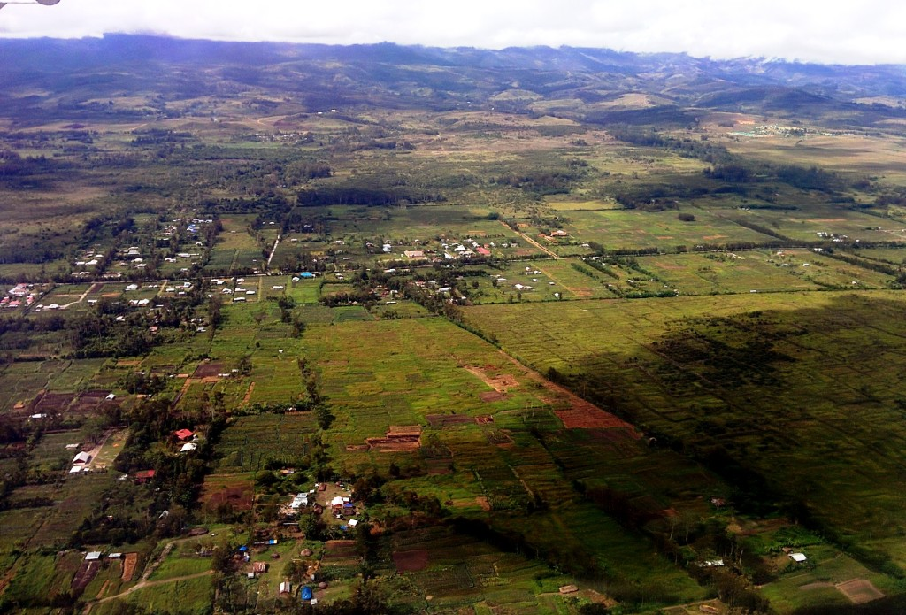 Multifunctional-landscape-in-Jayapura-Papua-from-the-air