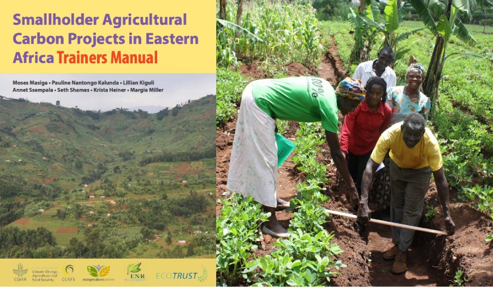 We produced this manual together with the leaders of the agricultural carbon project in Uganda. It was a critical part of their own capacity-building efforts.