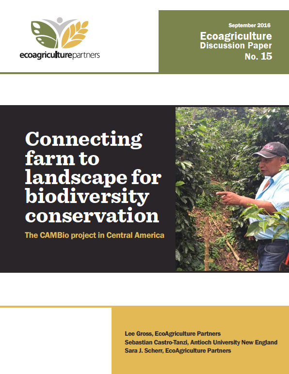 Connecting farm to landscape for biodiversity conservation