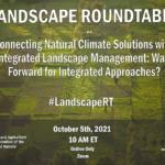 Landscape Roundtable: Natural climate solutions